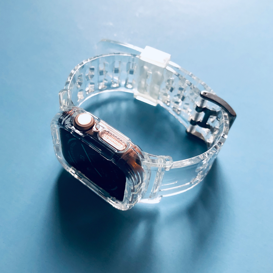 Transparent Full Body Strap - Crystal Clear - Memebands