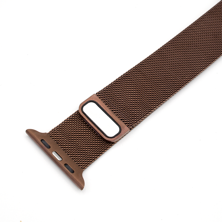 Milanese Loop Apple Watch Band - Bronze - Memebands