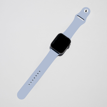 Silicone Apple Watch Band - Linen Blue - Memebands