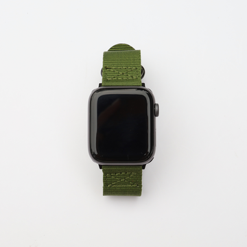 NATO Nylon Apple Watch Band - Olive - Memebands