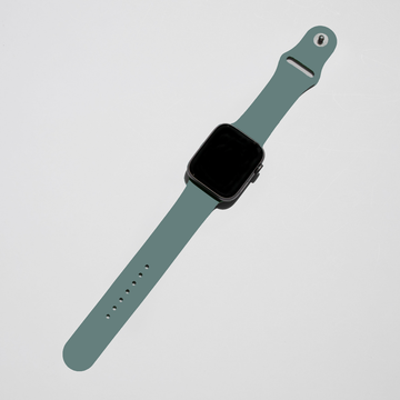 Silicone Apple Watch Band - Pine Green - Memebands