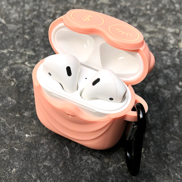 Pink Owl AirPods Case with Ring - Memebands