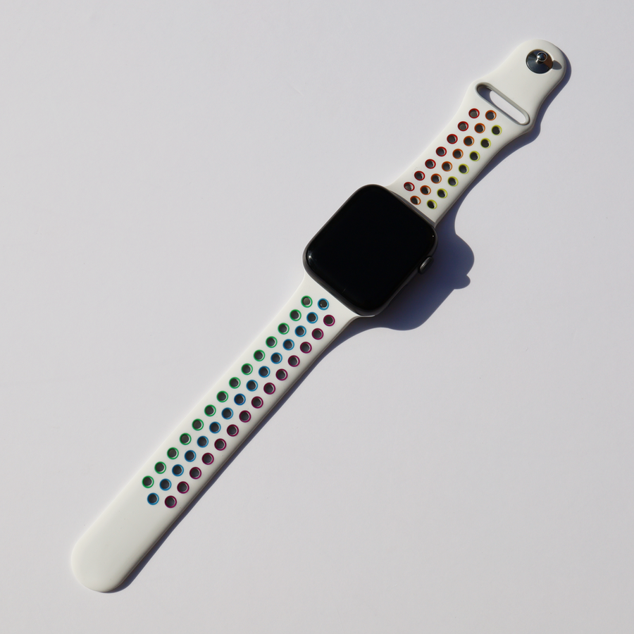 Sport Silicone Apple Watch Band - Pride - Memebands