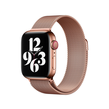 Rose Gold Milanese Loop Apple Watch Band - Memebands