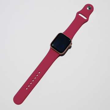 Silicone Apple Watch Band - Rose Red - Memebands