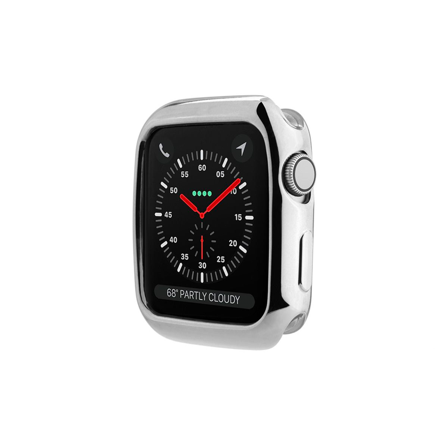 Silver Apple Watch Case - Memebands