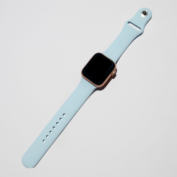 Silicone Apple Watch Band - Baby Sky Blue - Memebands