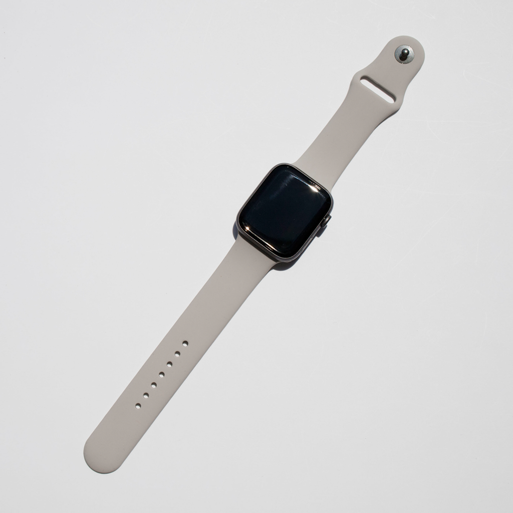 Silicone Apple Watch Band - Stone - Memebands