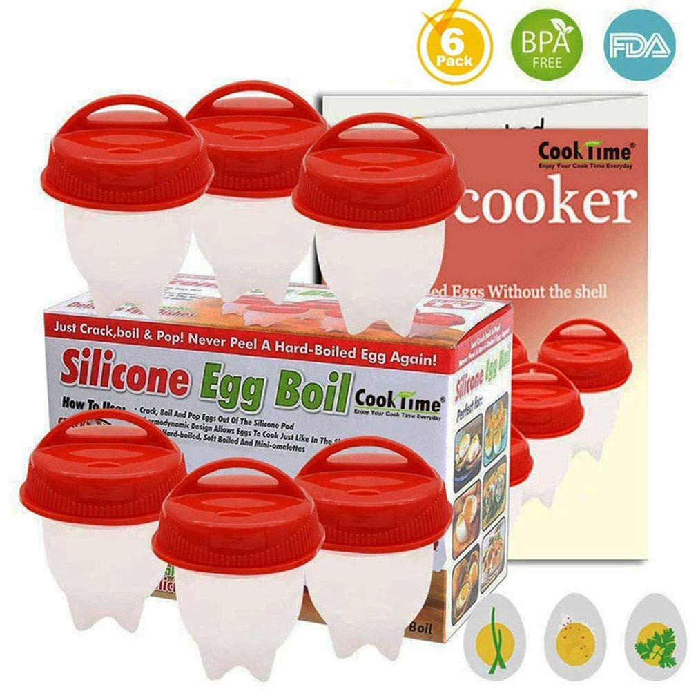 Braconniers Oeuf Cuit-Silicone pour oeufs