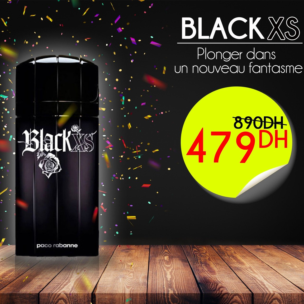 "BLACK XS L'EXCES de Paco Rabanne pour MEN ""100 ml"""