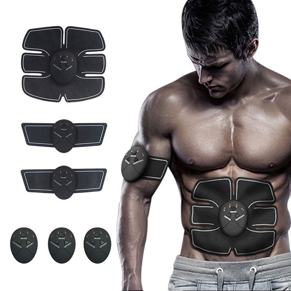 Smart Fitness 6 Pack Stimulator EMS, Abdominaux, Biceps, Triceps, Cuisses, Dos, Epaules...