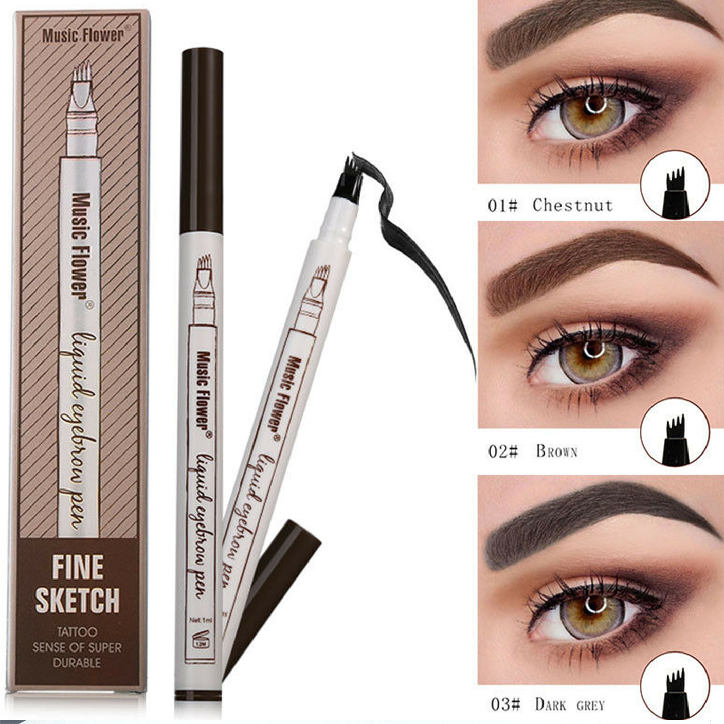 Fine Sketch Eyebrow Pencil Perfect
