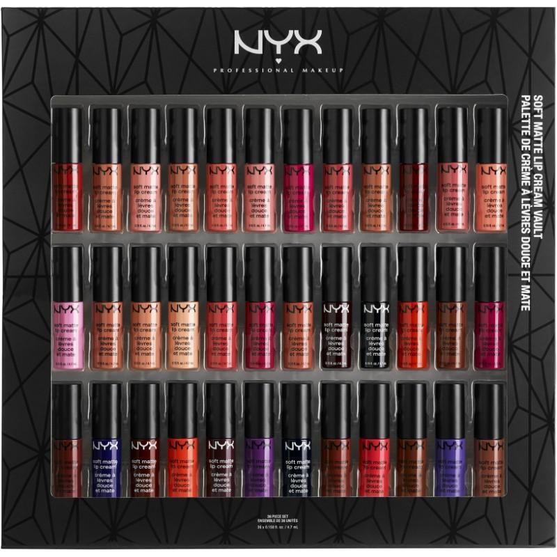 NYX SOFT MATTE LIP CREAM VAULT