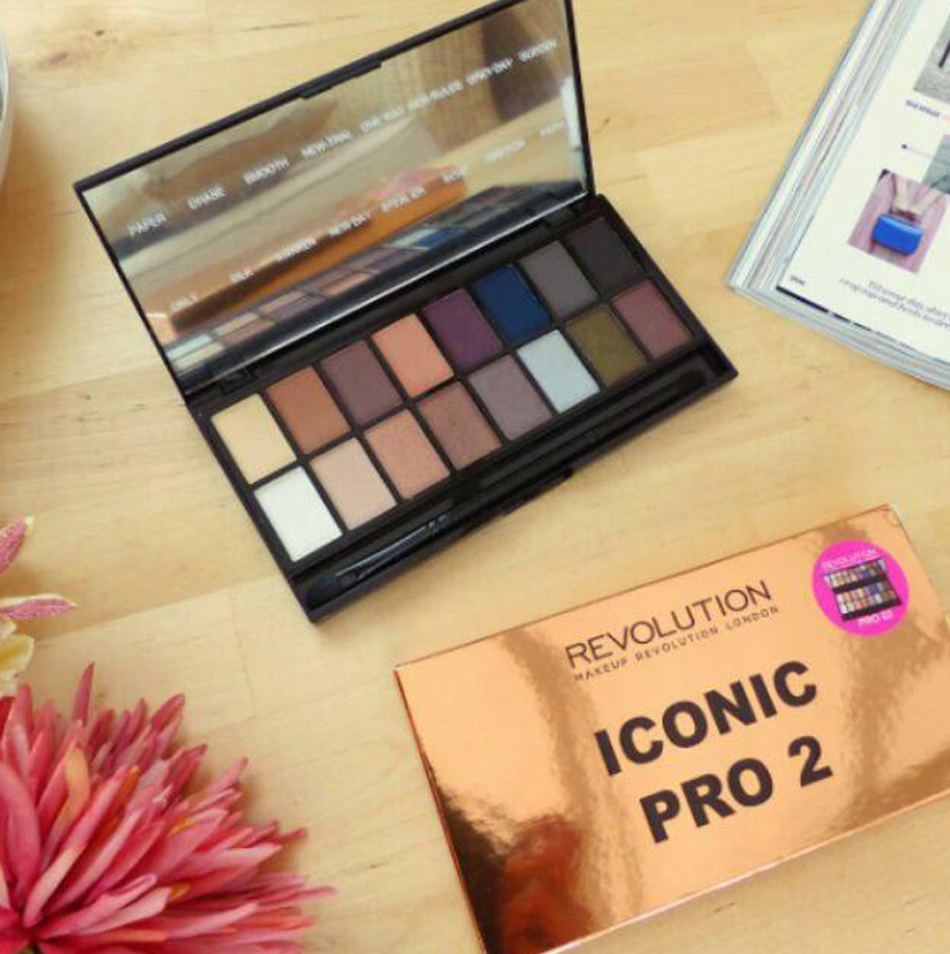 Palette Revolution Makeup Revolution Iconic Pro 2 Eyeshadow
