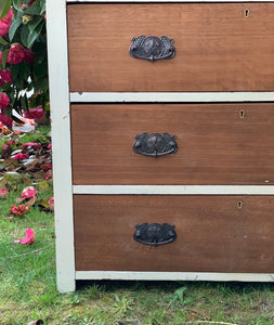 Tas Oak Chest of Drawers.
