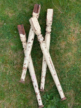 Set of Rustic Table Legs.