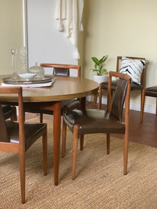 Mid Century Extension Dining Suite