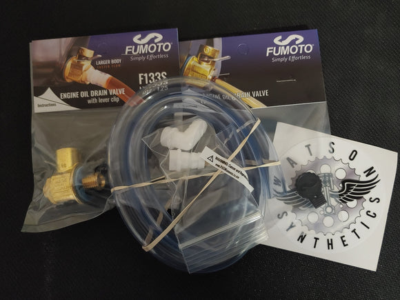 Fumoto F133S Valve Kit for 4Runner and Tacoma