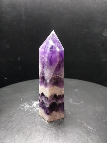 1pc Beautiful natural Dream amethyst point quartz crystal reiki healing natural stones and minerals