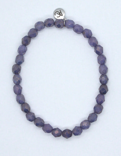 Alexandrite Moon Dust Fire Polished Glass Bracelet