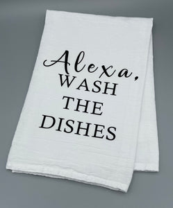 Alexa, Wash the Dishes
