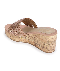 Signora Wedges - Rose Gold