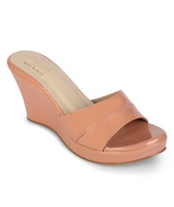 Summer Wedges - Dusty Rose