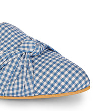 Load image into Gallery viewer, Blue Checkered Mules