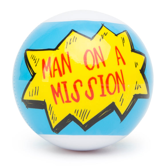 Broad City Man on a Mission Masturbation Egg - Clear LHR-68292