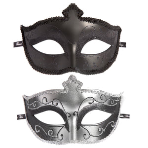 Fifty Shades of Grey Masks on Masquerade Mask Twin Pack LHR-52420