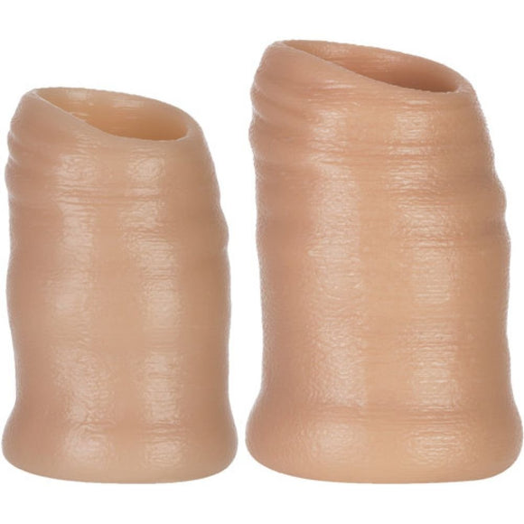 Docker Moreskin Silicone Faux Foreskin - Light Tone - Small/ Medium OX-1352-SM-L