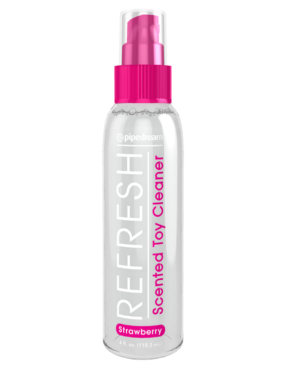 Refresh Scented Toy Cleaner - Strawberry - 4 Fl. Oz. PD9759-60