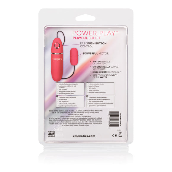Power Play Playful Bullet - Pink SE1165052