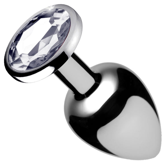 Clear Gem Anal Plug - Medium BTYS-AF632-MEDIUM
