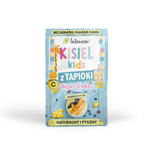 Kisiel kids with pineapple tapioca 30g - Intenson.pl