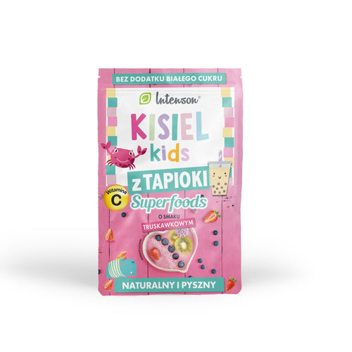 Kisiel kids with strawberry tapioca 30g - Intenson.pl
