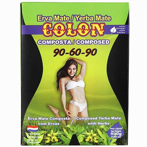 Yerba Mate Colon 90-60-90 500 g - Intenson.pl