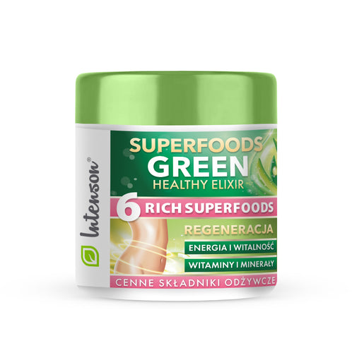 Green Superfood Elixir 150g -Intenson.pl
