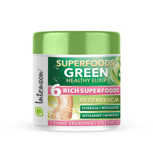 Green Superfood Elixir 3x 14 porcji - Intenson.pl