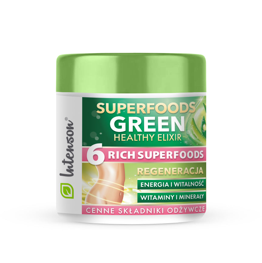 Green Superfood Elixir 150g - Intenson.pl