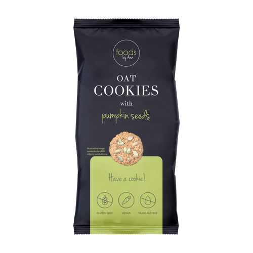 Oat cookies with pumpkin 100g - Intenson.pl