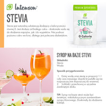 Load the photo into the gallery browser, Stevia w kryształkach 250g - Intenson.pl