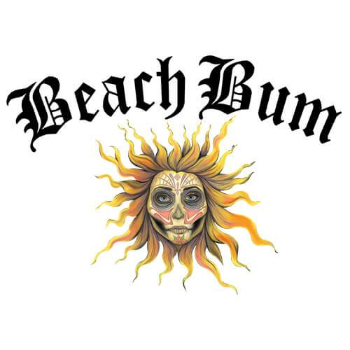Beach Bum by Skull & Roses