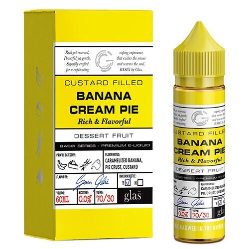 Basix Series by Glas E-Liquid - Banana Cream Pie