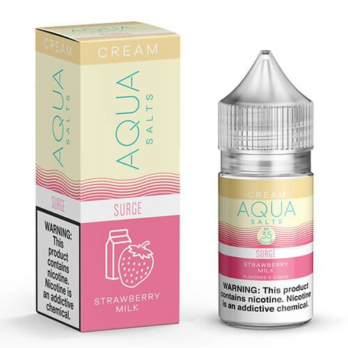 Aqua Cream eJuice SALT - Surge