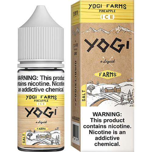 Yogi Farms SALTS - Pineapple on ICE