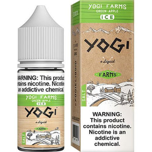 Yogi Farms SALTS - Green Apple on ICE