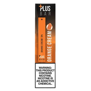 Plus Pods - Disposable Vape Pod Device - Orange Cream