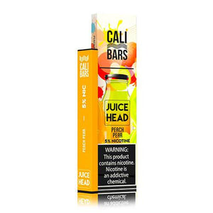 Cali Bars x Juice Head - Disposable Vape Device - Peach Pear