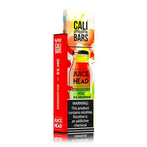 Cali Bars x Juice Head - Disposable Vape Device - Strawberry Kiwi